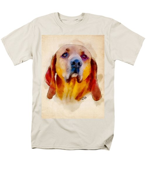 Men's T-Shirt  (Regular Fit) featuring the painting Retriever by Greg Collins