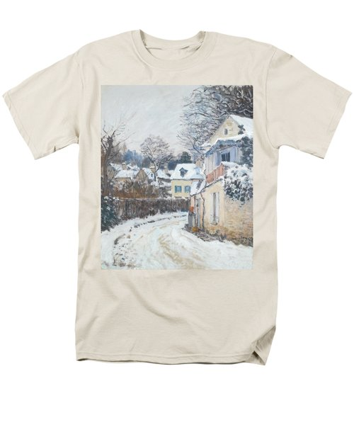Road Louveciennes Men's T-Shirt  (Regular Fit) by Alfred Sisley