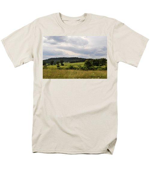 Men's T-Shirt  (Regular Fit) featuring the photograph Road Trip 2012 by Verana Stark