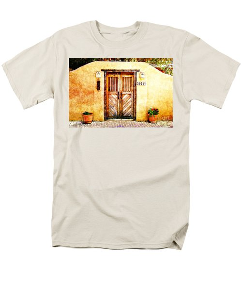 Romance Of New Mexico Men's T-Shirt  (Regular Fit) by Barbara Chichester