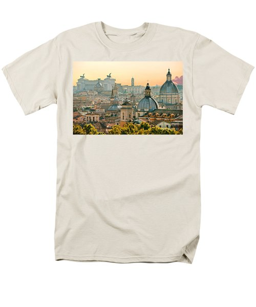 Rome - Italy Men's T-Shirt  (Regular Fit) by Luciano Mortula