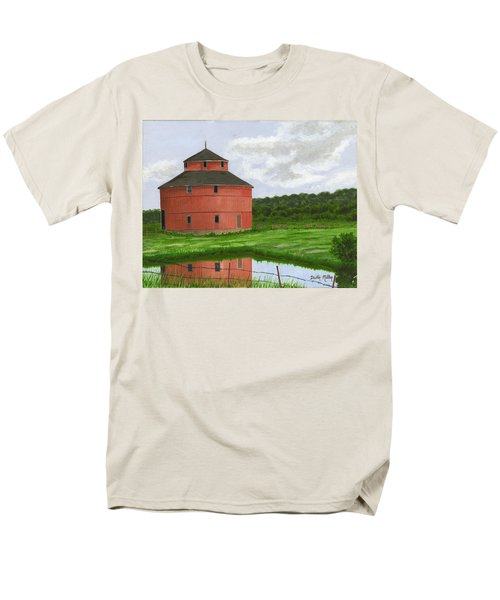 Round Barn Men's T-Shirt  (Regular Fit) by Dustin Miller