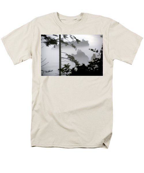 Ruby Beach Washington State Men's T-Shirt  (Regular Fit) by Greg Reed