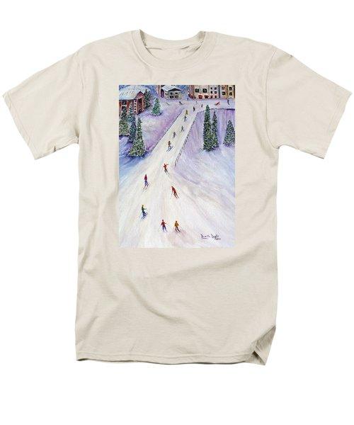 Rush Hour Men's T-Shirt  (Regular Fit) by Loretta Luglio