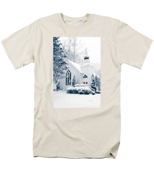 Historic Church Oella Maryland Usa Men's T-Shirt  (Regular Fit) by Vizual Studio