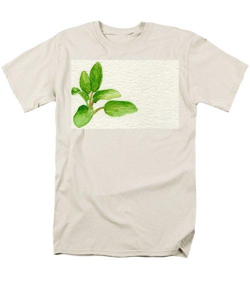 Sage Men's T-Shirt  (Regular Fit) by Annemeet Hasidi- van der Leij