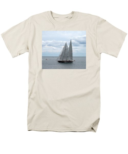 Sailing Day Men's T-Shirt  (Regular Fit) by Catherine Gagne