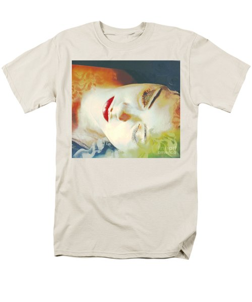 Men's T-Shirt  (Regular Fit) featuring the digital art Sally Sleeps by Kim Prowse