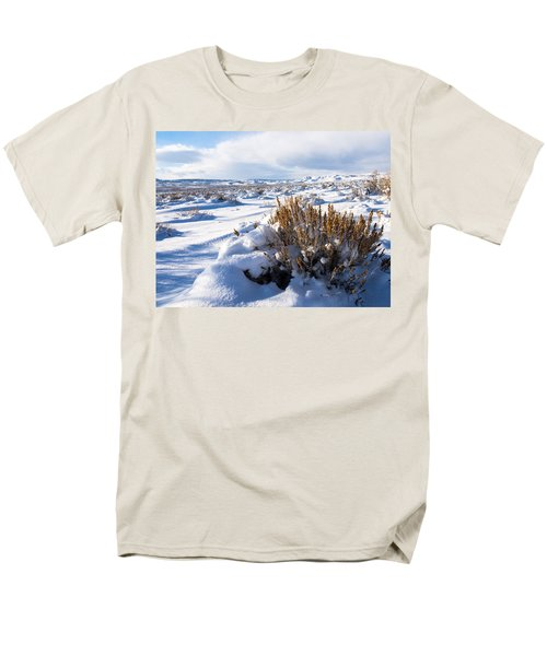 Sand Wash Basin In The Winter Men's T-Shirt  (Regular Fit) by Nadja Rider