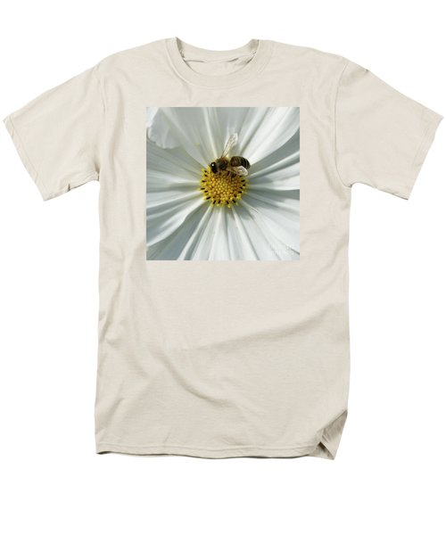 Men's T-Shirt  (Regular Fit) featuring the photograph Satin Sheets by Linda Shafer
