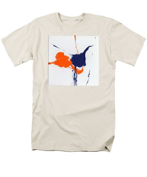 School Colors Men's T-Shirt  (Regular Fit)