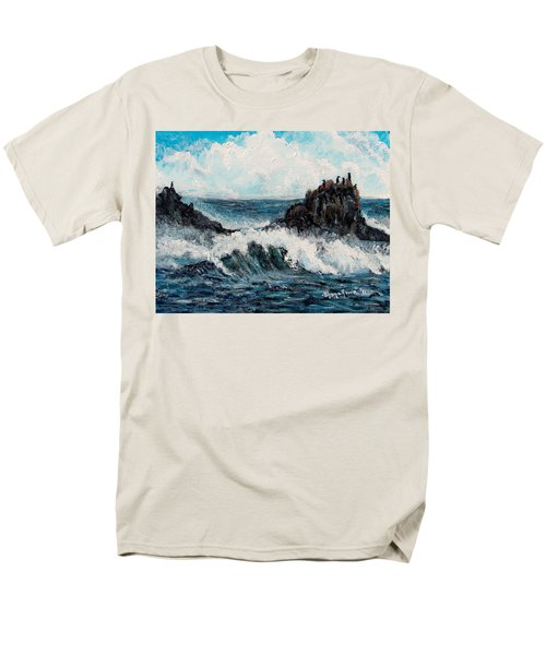 Men's T-Shirt  (Regular Fit) featuring the painting Sea Whisper by Shana Rowe Jackson