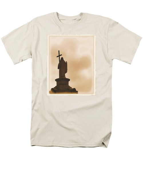 Men's T-Shirt  (Regular Fit) featuring the photograph Seeking The Divine by Nadalyn Larsen