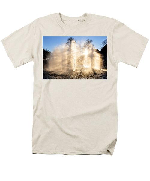 Men's T-Shirt  (Regular Fit) featuring the photograph Shadow Play by Charlotte Schafer