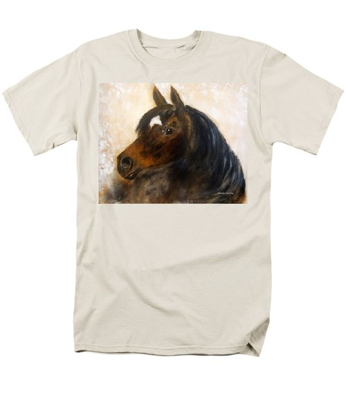 Men's T-Shirt  (Regular Fit) featuring the painting Shadow by Barbie Batson