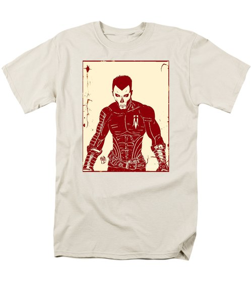 Shadowman Poster Men's T-Shirt  (Regular Fit) by Justin Moore