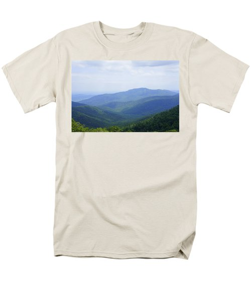 Men's T-Shirt  (Regular Fit) featuring the photograph Shenandoah View by Laurie Perry