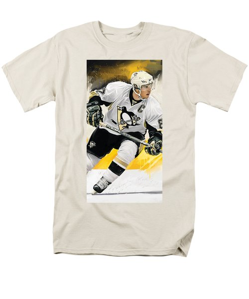 Sidney Crosby Artwork Men's T-Shirt  (Regular Fit) by Sheraz A
