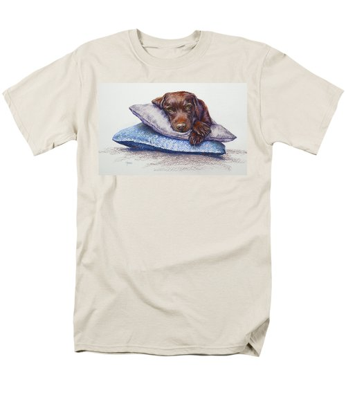 Men's T-Shirt  (Regular Fit) featuring the painting Siesta by Cynthia House