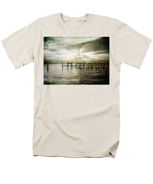 Men's T-Shirt  (Regular Fit) featuring the photograph Silhouettes  by Kathy Bassett
