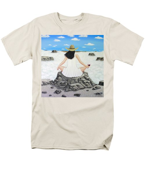 Sippin' On Top Of The World Men's T-Shirt  (Regular Fit) by Lance Headlee
