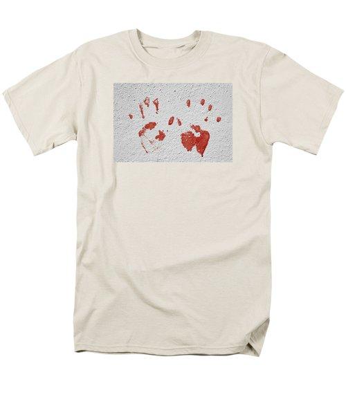 Men's T-Shirt  (Regular Fit) featuring the photograph Skc 1058 Palm Impressions by Sunil Kapadia