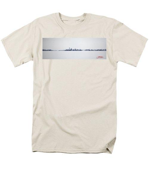 Skyline 10x30-2 Men's T-Shirt  (Regular Fit)