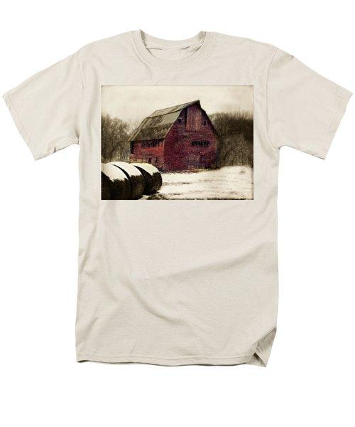 Snow Bales Men's T-Shirt  (Regular Fit)