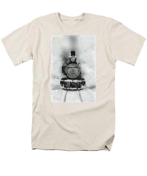 Snow Train Men's T-Shirt  (Regular Fit)
