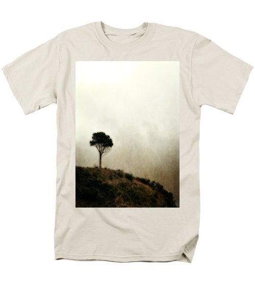 Solitary Tree Men's T-Shirt  (Regular Fit) by Michelle Calkins