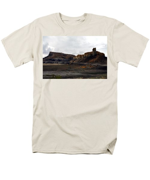 Source Of The Mud Flood Men's T-Shirt  (Regular Fit) by Lon Casler Bixby
