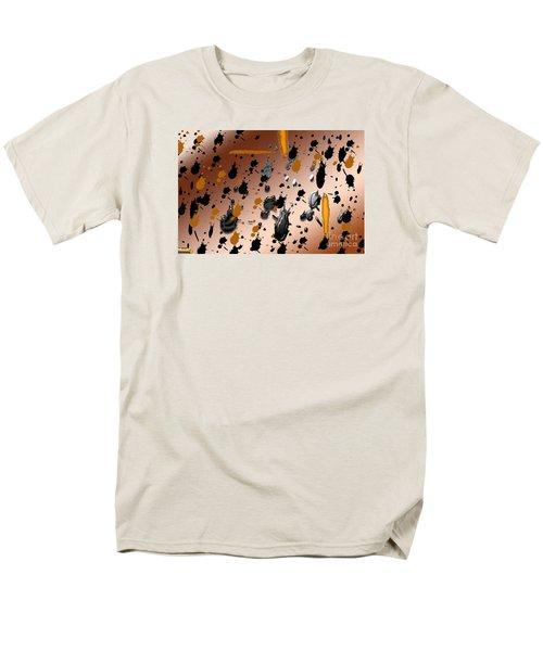 Men's T-Shirt  (Regular Fit) featuring the photograph Splatters by Tina M Wenger