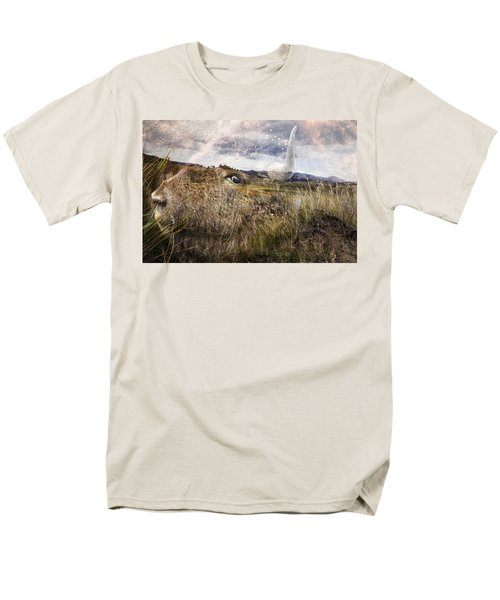 Spirit Of The Past Men's T-Shirt  (Regular Fit) by Belinda Greb