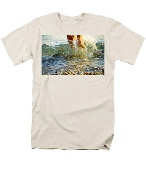 Splish Splash Men's T-Shirt  (Regular Fit) by Heiko Koehrer-Wagner
