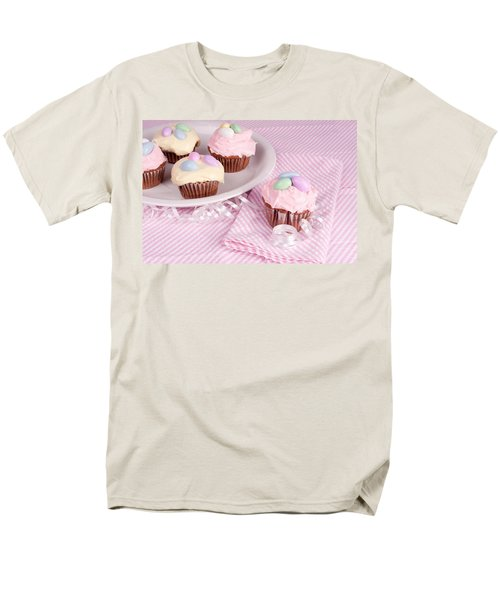 Cupcakes With A Spring Theme Men's T-Shirt  (Regular Fit) by Vizual Studio