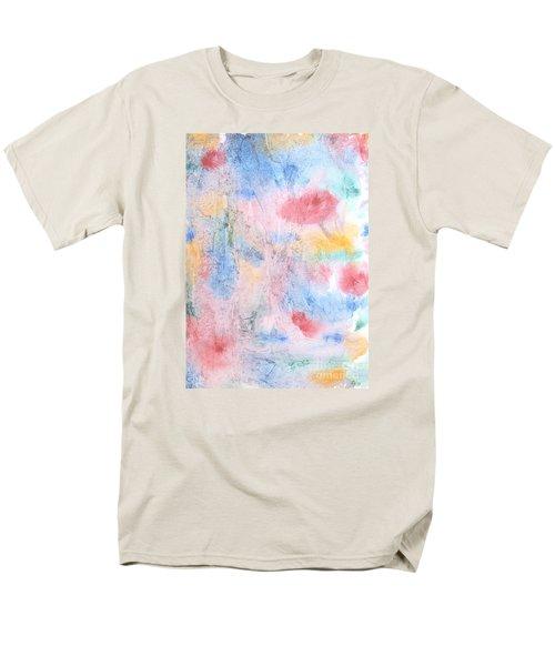 Spring Garden Men's T-Shirt  (Regular Fit) by Susan  Dimitrakopoulos