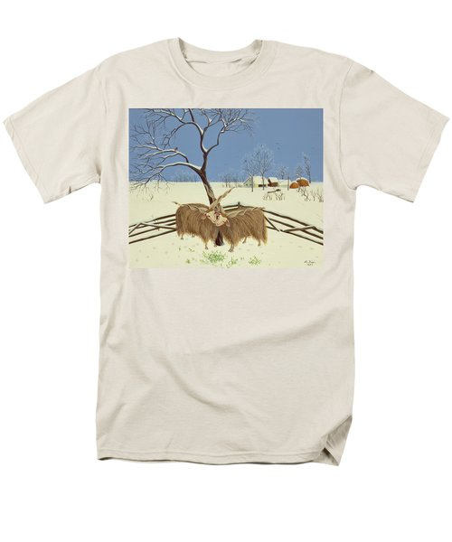 Spring In Winter Men's T-Shirt  (Regular Fit) by Magdolna Ban