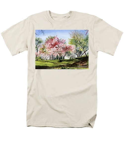 Spring Morning Men's T-Shirt  (Regular Fit) by Barbara Jewell