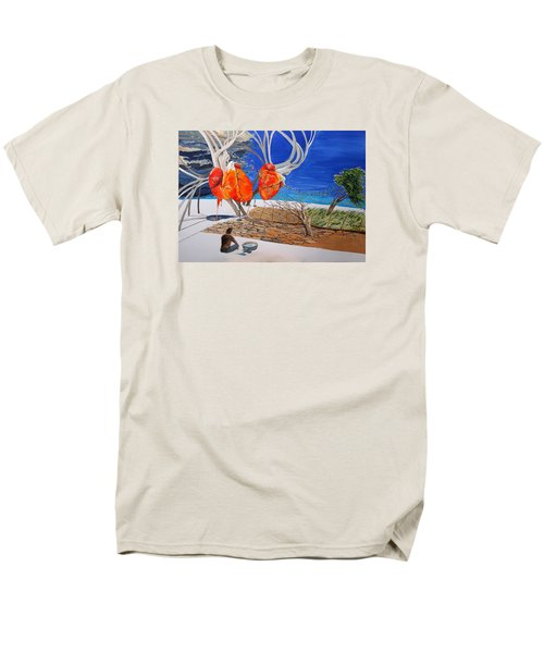 State Of Emotion The Pulse Let It Work... Men's T-Shirt  (Regular Fit) by Lazaro Hurtado