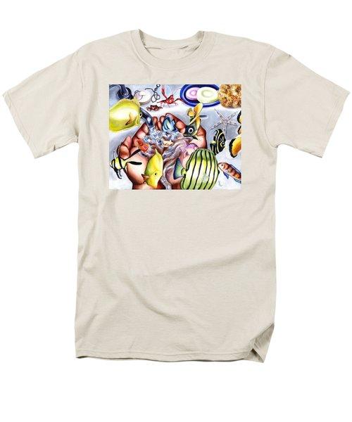 Still Drunk Men's T-Shirt  (Regular Fit) by Hiroko Sakai