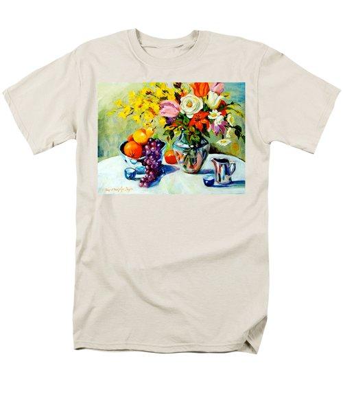 Still Life Creamer Men's T-Shirt  (Regular Fit) by Alexandra Maria Ethlyn Cheshire