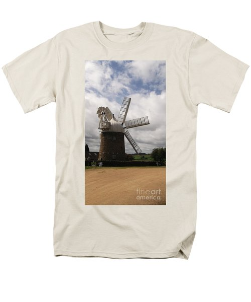 Men's T-Shirt  (Regular Fit) featuring the photograph Still Turning In The Wind by Tracey Williams
