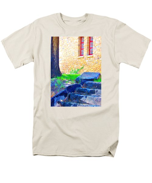 Stone Steps Men's T-Shirt  (Regular Fit) by Marilyn Diaz