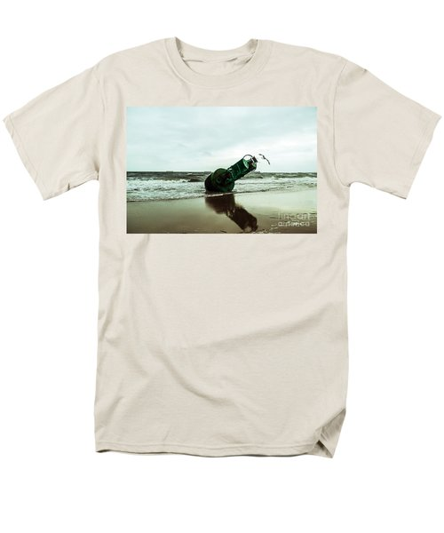 Men's T-Shirt  (Regular Fit) featuring the photograph Stranded by Angela DeFrias