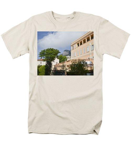Men's T-Shirt  (Regular Fit) featuring the photograph Street Of Monaco by Allen Sheffield