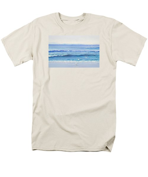 Summer Seascape Men's T-Shirt  (Regular Fit) by Jan Matson