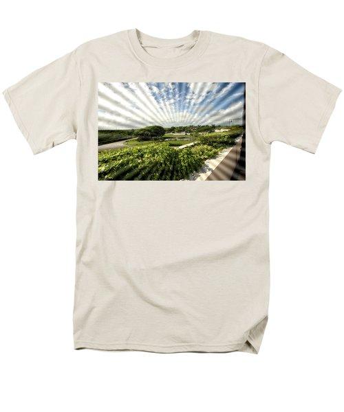 Sun Rays Men's T-Shirt  (Regular Fit) by Mustafa Abdullah