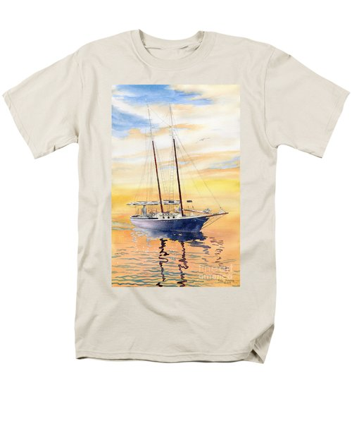 Sunset Cruise Men's T-Shirt  (Regular Fit) by Melly Terpening
