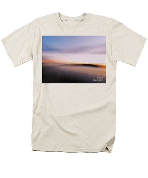Men's T-Shirt  (Regular Fit) featuring the photograph Sunset Island Dreaming by Andy Prendy
