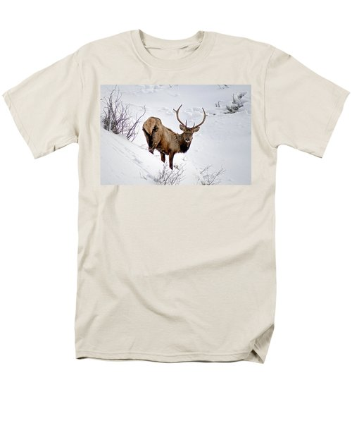 Men's T-Shirt  (Regular Fit) featuring the photograph Surviving by Jeremy Rhoades
